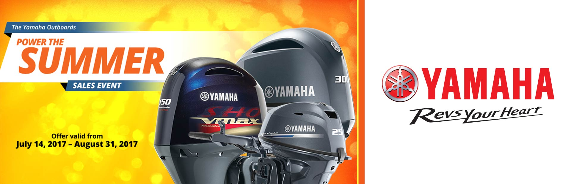 Yamaha: Power The Summer Sales Event