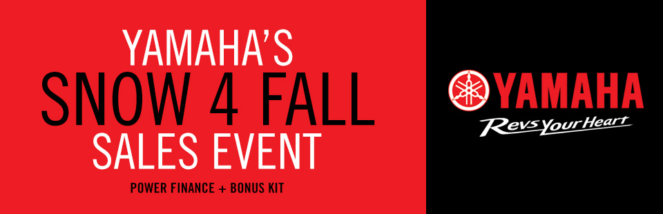 Snow4Fall Sales Event