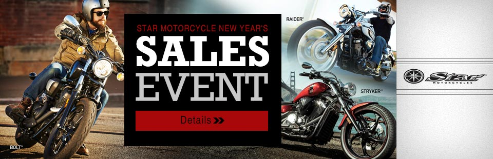 Star Motorcycle New Year's Sales Event