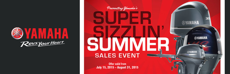 Super Sizzlin' Summer Sales Event
