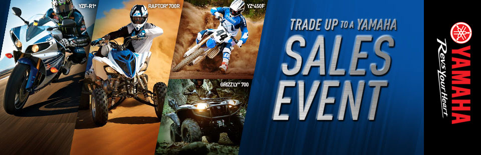 Trade Up to a Yamaha Sales Event