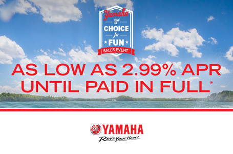 As Low As 2.99% APR Until Paid In Full*