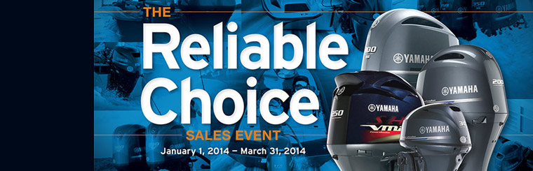 The Reliable Choice Sales Event