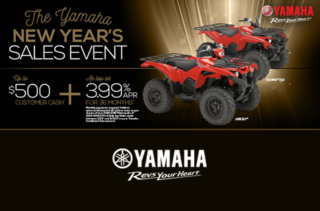 New Year's Sales Event (Utility ATV)