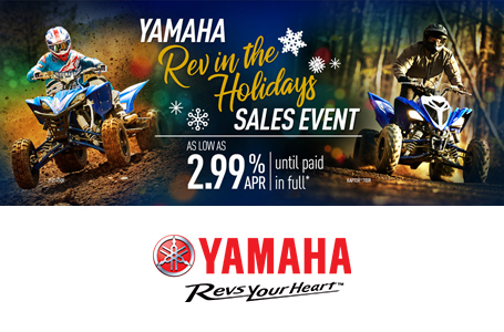 Rev in the Holidays Sales Event (Sport ATV)