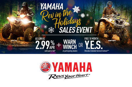 Rev in the Holidays Sales Event (Utility ATV)