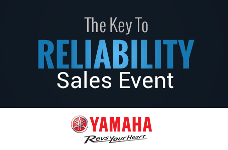 The Key To Reliability Sales Event