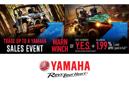 Warn Winch or Y.E.S. + As Low As 1.99% APR