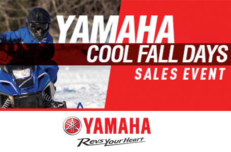 Yamaha Cool Fall Days Sales Event