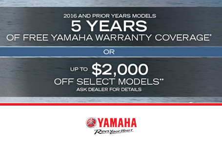 5 Years Free Warranty Coverage or Up To $2000 Off