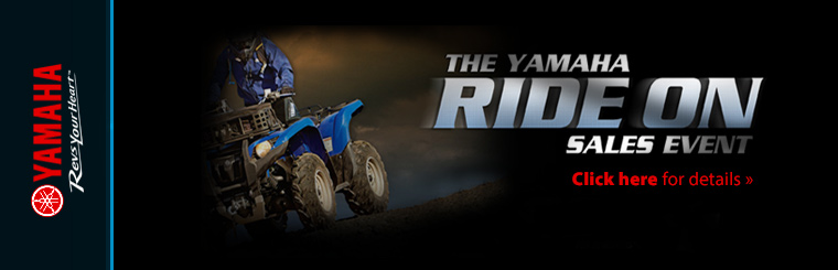The Yamaha Ride On Sales Event