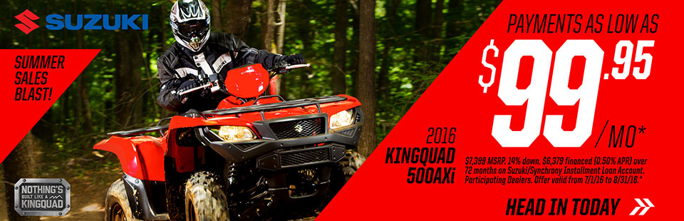 Summer Sales Blast - KingQuad