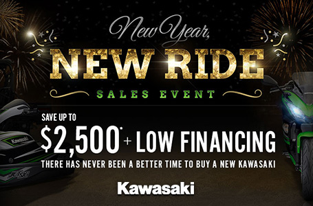 New Year, New Ride Sales Event