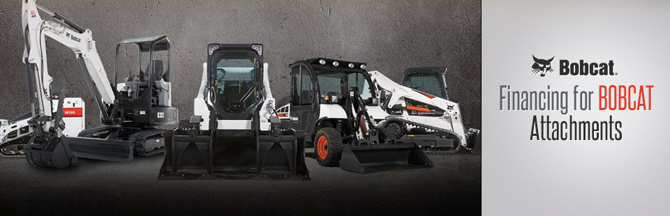 Financing for Bobcat Attachments