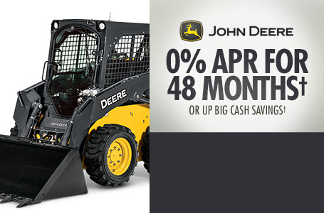 0% APR for 48 Months† OR Up Big Cash Savings†