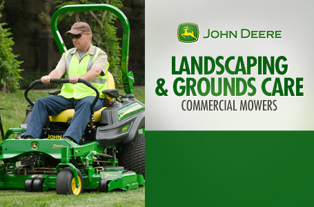 Landscaping & Grounds Care - Commercial Mowers