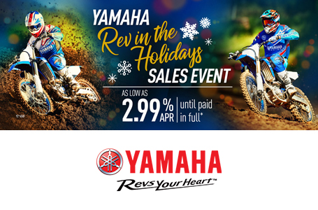 Rev in the Holidays Sales Event (Dirt)