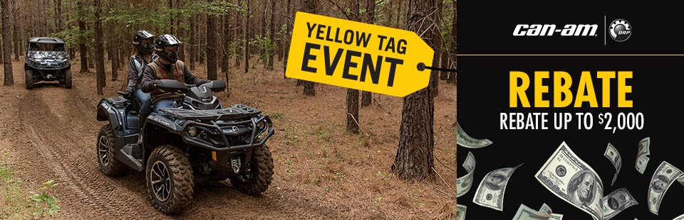 Yellow Tag: ATV & Side x Side Offer