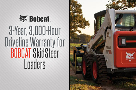 3Yr 3K Hr Driveline Warranty for SkidSteer Loaders