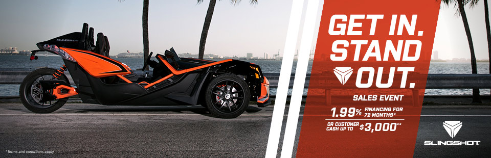 Slingshot: Get In. Stand Out.