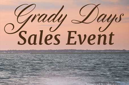 Grady Days Sales Event