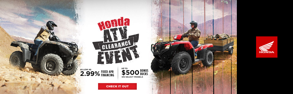 Honda ATV Clearance Event