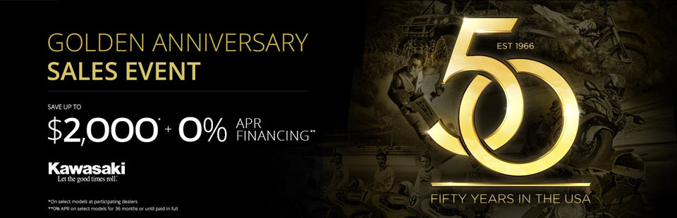 Golden Anniversary Sales Event