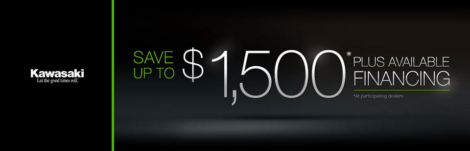 Save Up to $1,500 Plus Available Financing