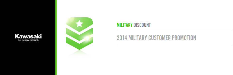 2014 Military Customer Promotion