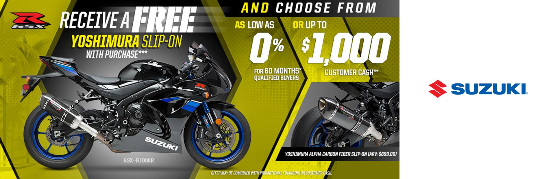 Yoshimura Slip-On Promotion