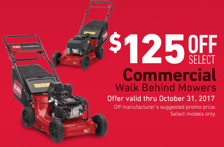 $125 Off Select Heavy Duty Recycler Mowers