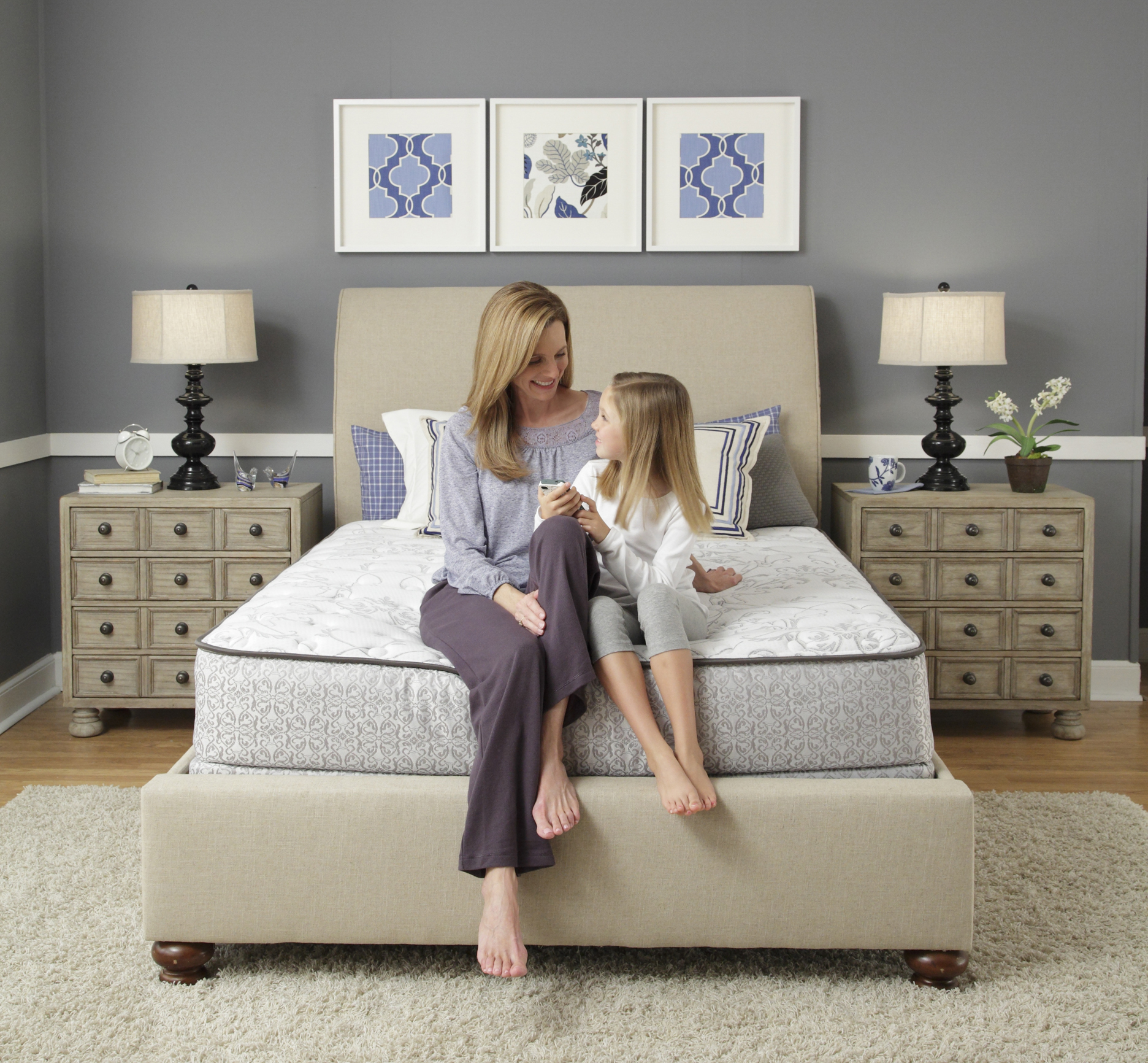 girl on sealy brand mattress - Sealy Mattress