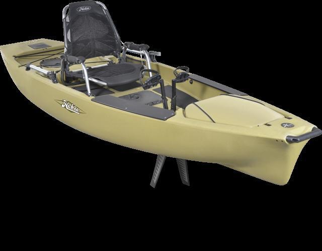 Hobie Kayaks Mirage Pro Angler 12 for sale in Greensboro, GA  Boats