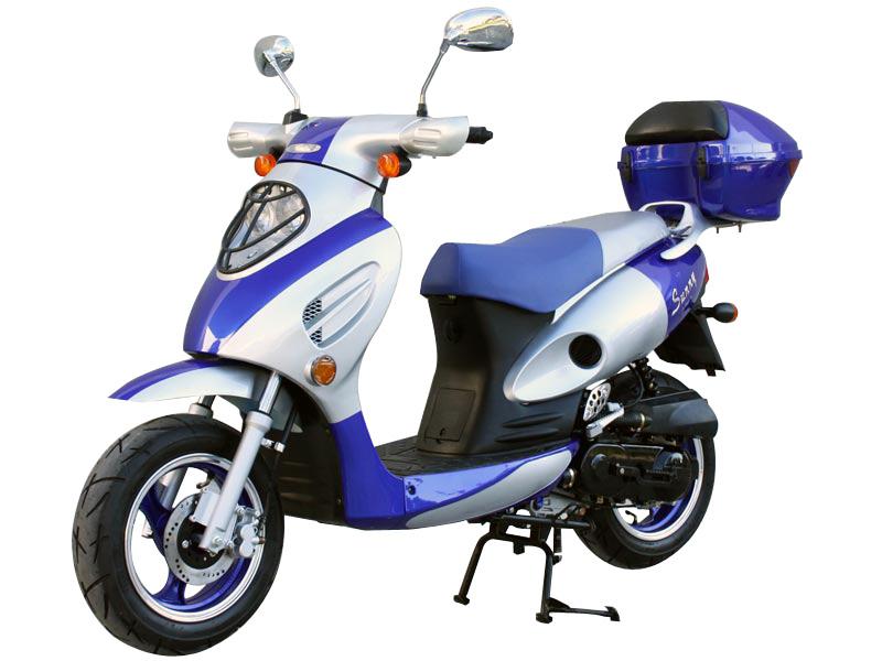 TAO TAO 2017 TAOTAO VIP 50CC SCOOTER BLUE