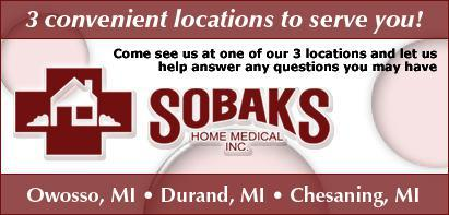3 convenient locations to serve you! Owosso, MI. Durand, MI. Chesaning, MI.