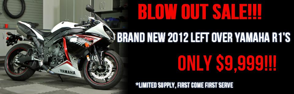 Yamaha R1 Blowout sale