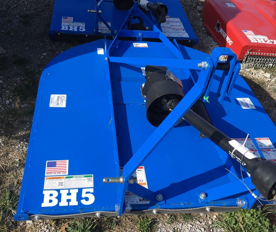 Inventory from Cub Cadet, Bush Hog and Green Mountain Grills
