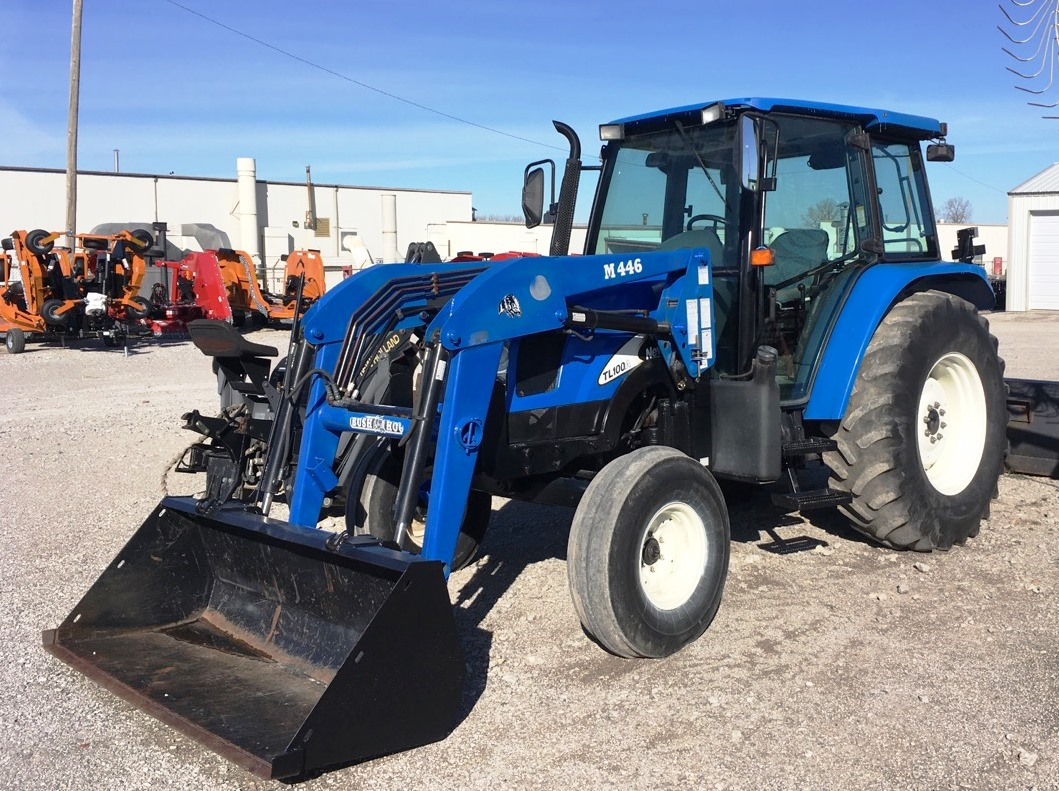 Inventory from New Holland Agriculture, H&S Manufacturing and