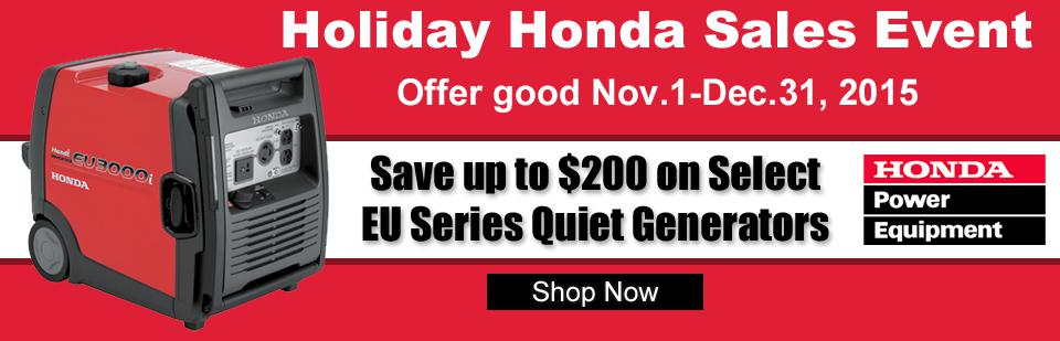 Holiday Honda Sales Event