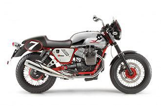 The tradition is thrilling Moto Guzzi V7 Café Racer