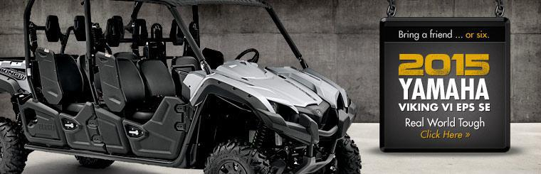 Click here to view the 2015 Yamaha Viking VI EPS SE!