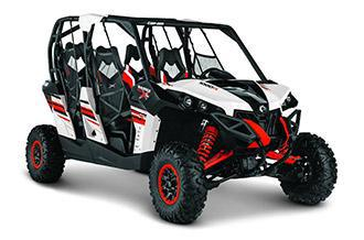 Four Seat All Terrain Capable Maverick MAX