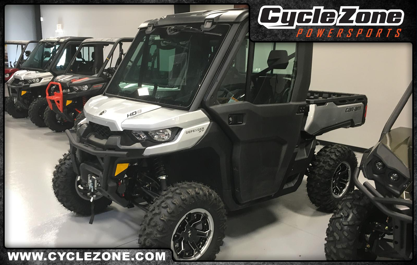 2019 can-am defender xt� cab hd8