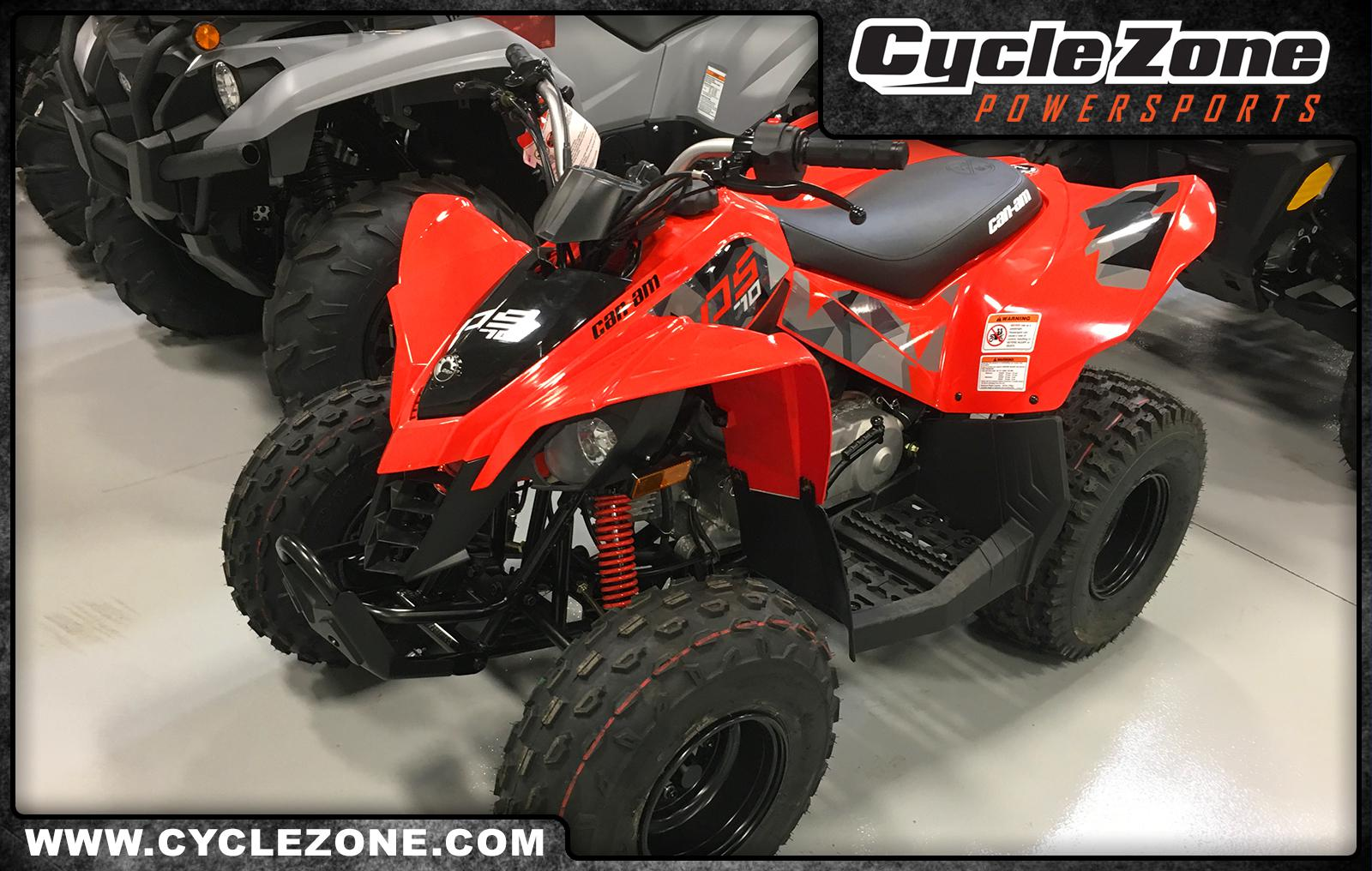 2019 can-am ds 70�