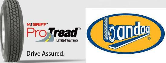 ProTread Limited Warranty and Bandag Retreading