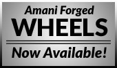 Amani Forged Wheels Now Available!