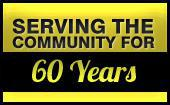 We've been serving the Community for 60 Years.