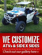 We Customize ATVs & Side x Sides