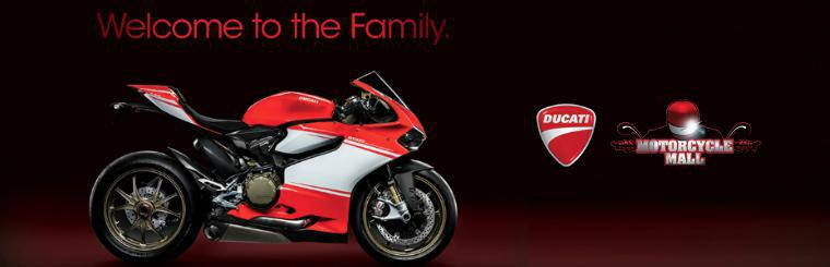 Welcome to the family! Motorcycle Mall is New Jersey's newest Ducati Dealer!