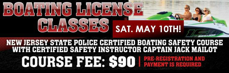 Boating Safety Class - July